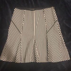 Banana Republic fluted skirt